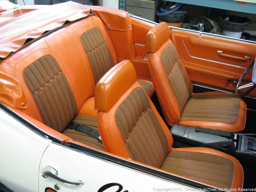 car interior repairs and interior restorations